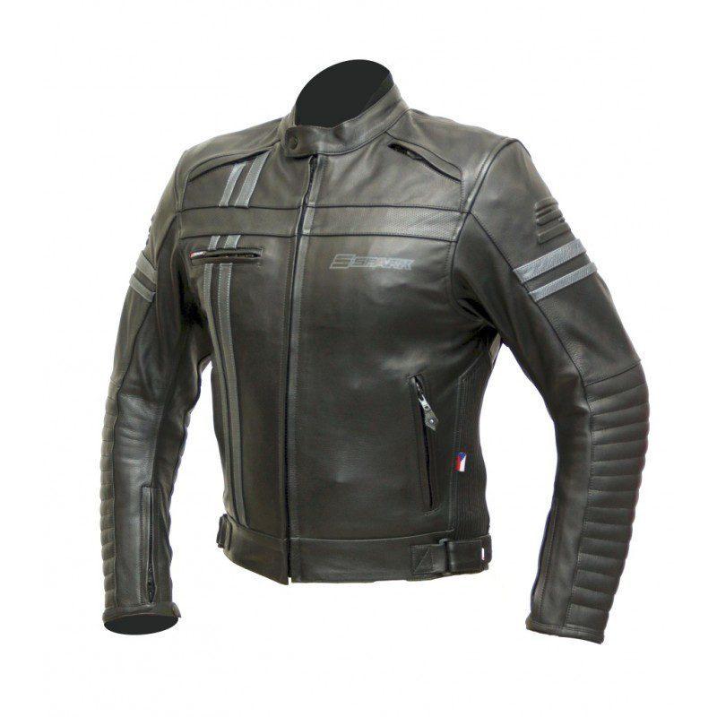 Pánská kožená moto bunda SPARK BRONO EVO d2cdbf50279