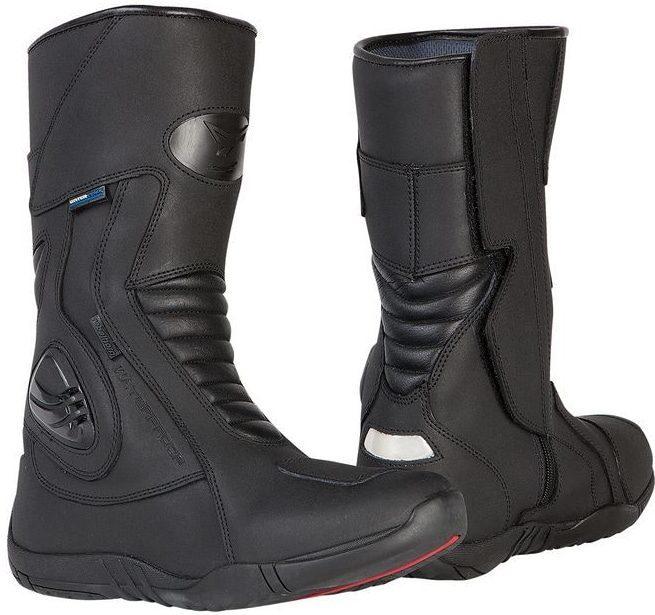 Cestovní moto boty REBELHORN Hail black  28547ba363